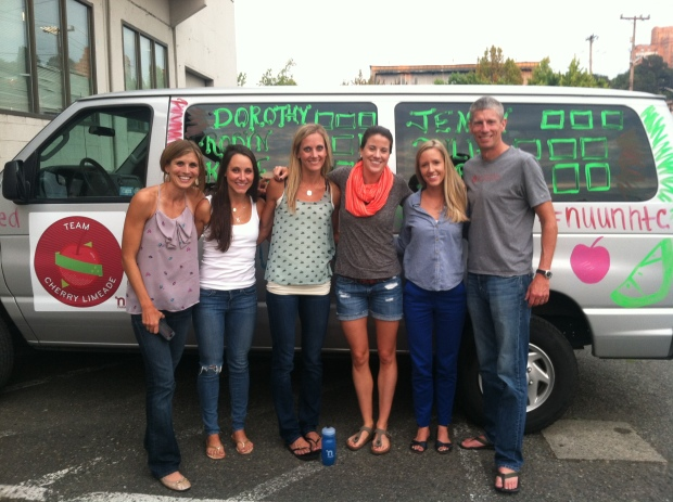 Nuun Hood to Coast Team Cherry Limeade