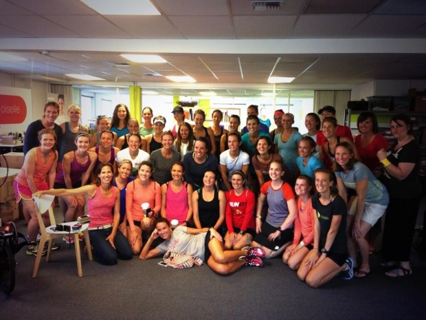 #NuunHTC at Oiselle HQ