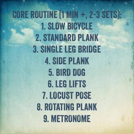 Core Strength Routine for Runners